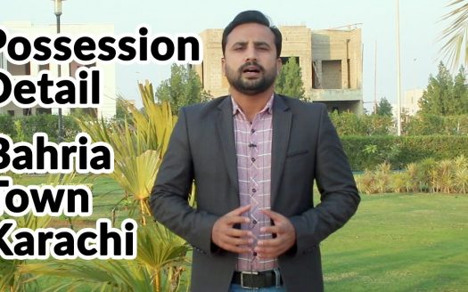 bahria town karachi possession