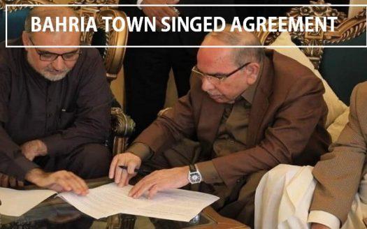 bahria town karachi agreement