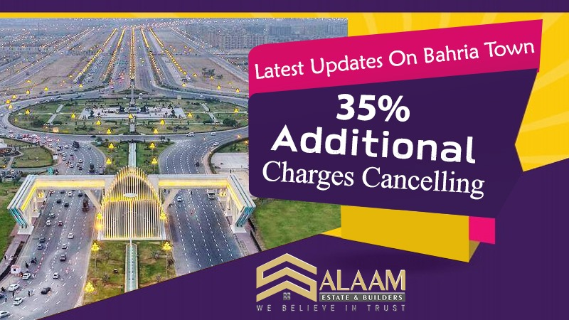 bahria town development charges