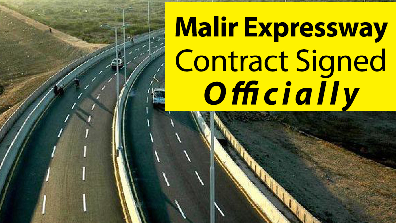 superhighway Malir Expressway Project