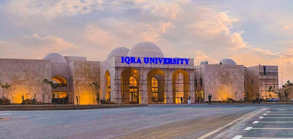 iqra university campus bahria town karachi