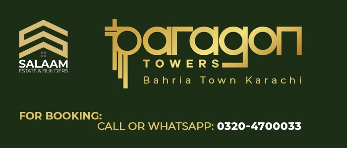 paragon tower bahria karachi