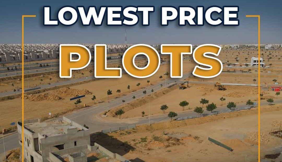 bahria karachi plots
