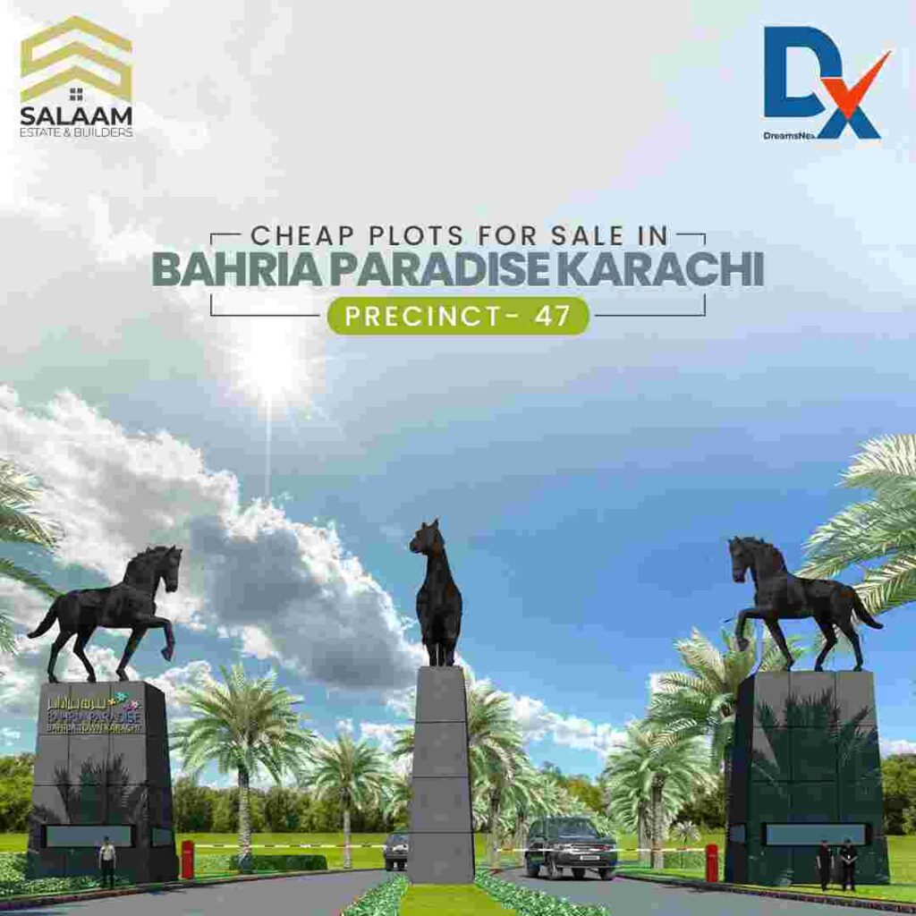 precinct-47 of Bahria Paradise