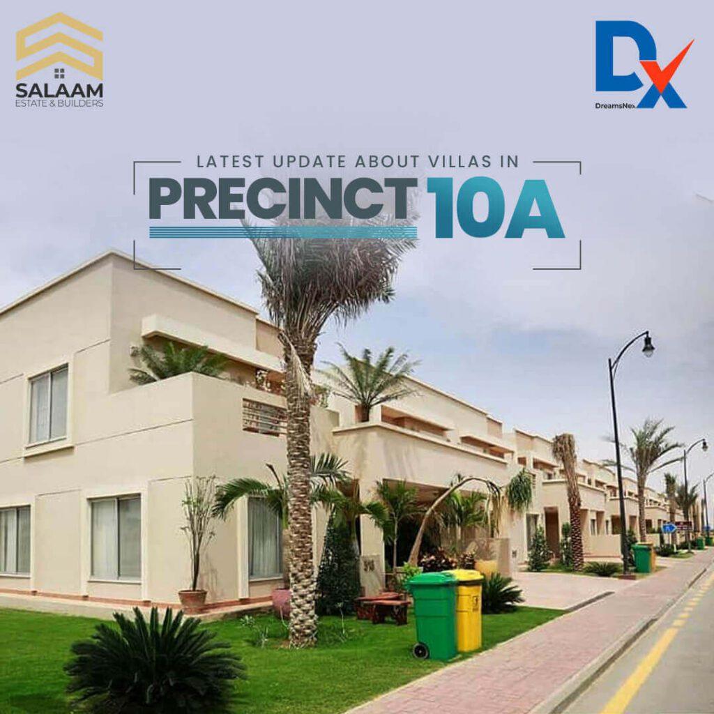 Apartments in Precinct 10 Bahria Town Karachi